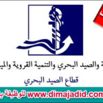 وزارة الصيد البحري Ministère de la Pêche Maritime concours de recrutement مباراة توظيف